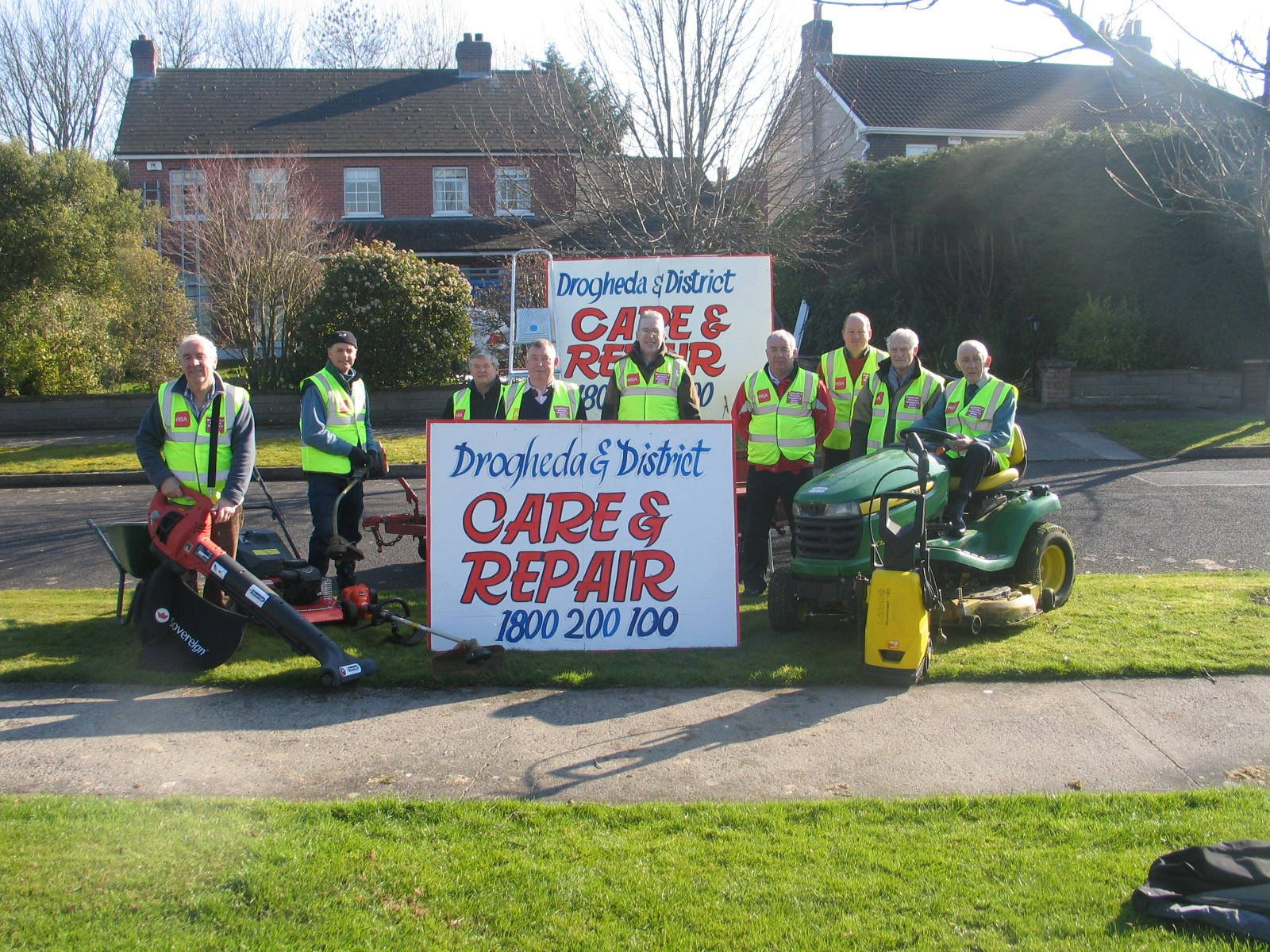 Care and Repair with banner