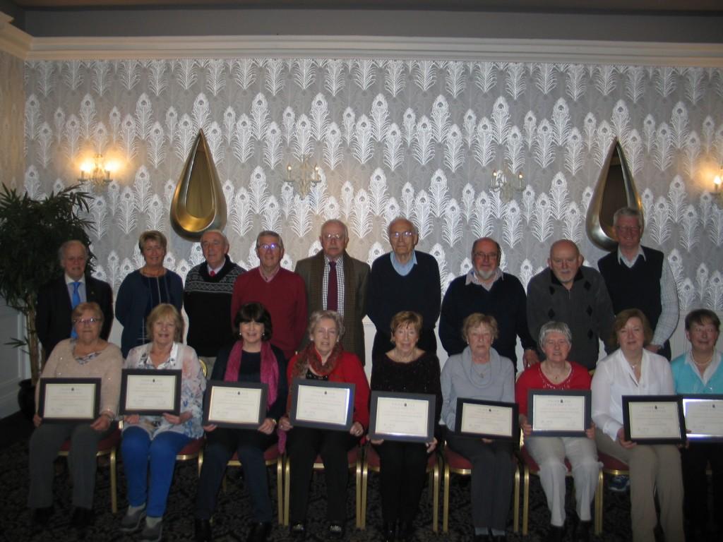 Senior Help Line presentations 2016